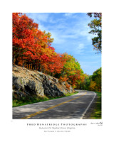 Autumn Along Skyline Drive, Virginia