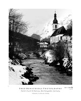 Parish Church at Ransau, Berchtesgaden